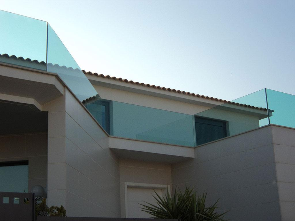 Alumipractic barandillas de hierro cristal y aluminio - Barandillas de hierro ...