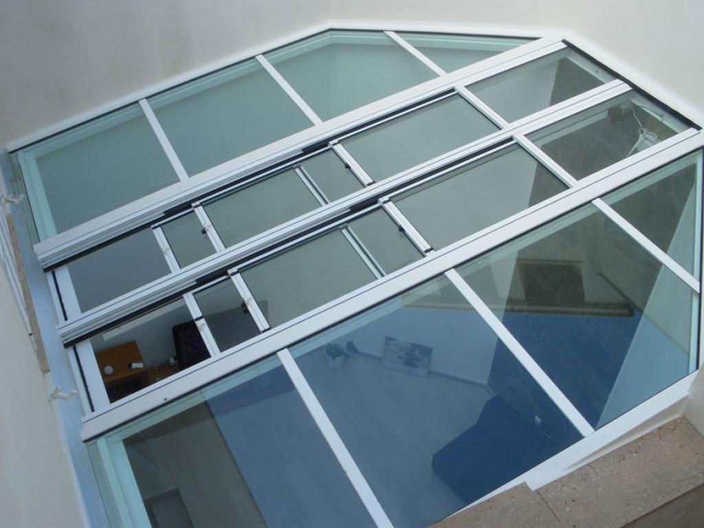 Alumipractic techos de aluminio mallorca techos de pvc - Techo de aluminio ...