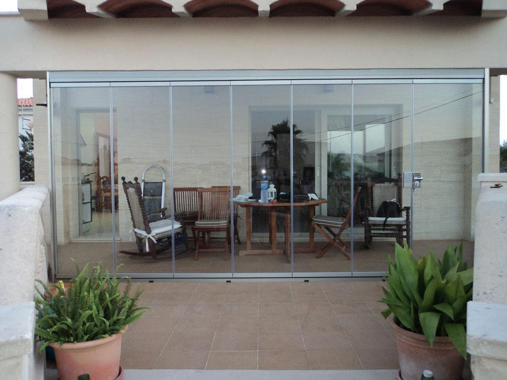 Alumipractic cortinas de cristal mallorca rectas laterales cortinas mallorca - Cortinas de cristal opiniones ...