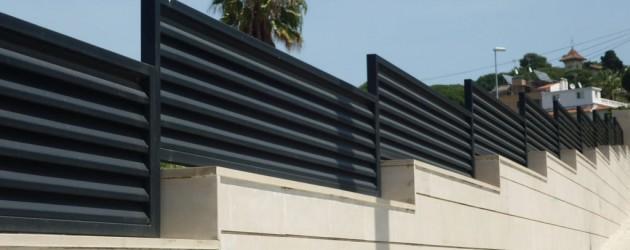 Alumipractic vallas cancelas puertas y vallado mallorca - Vallas para casas ...